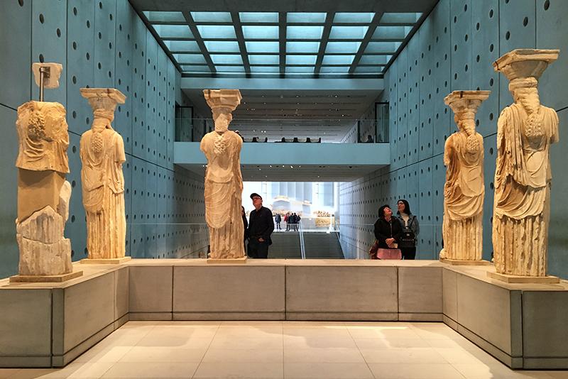 museo arqueológico de la acrópolis en atenas