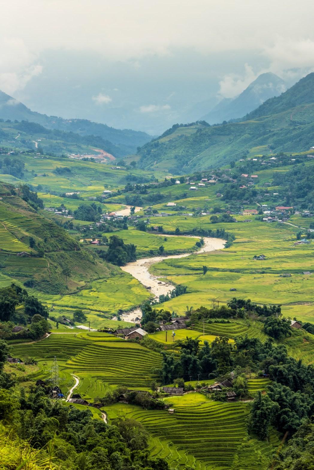 paisajes de vietnam foto de bisual studio
