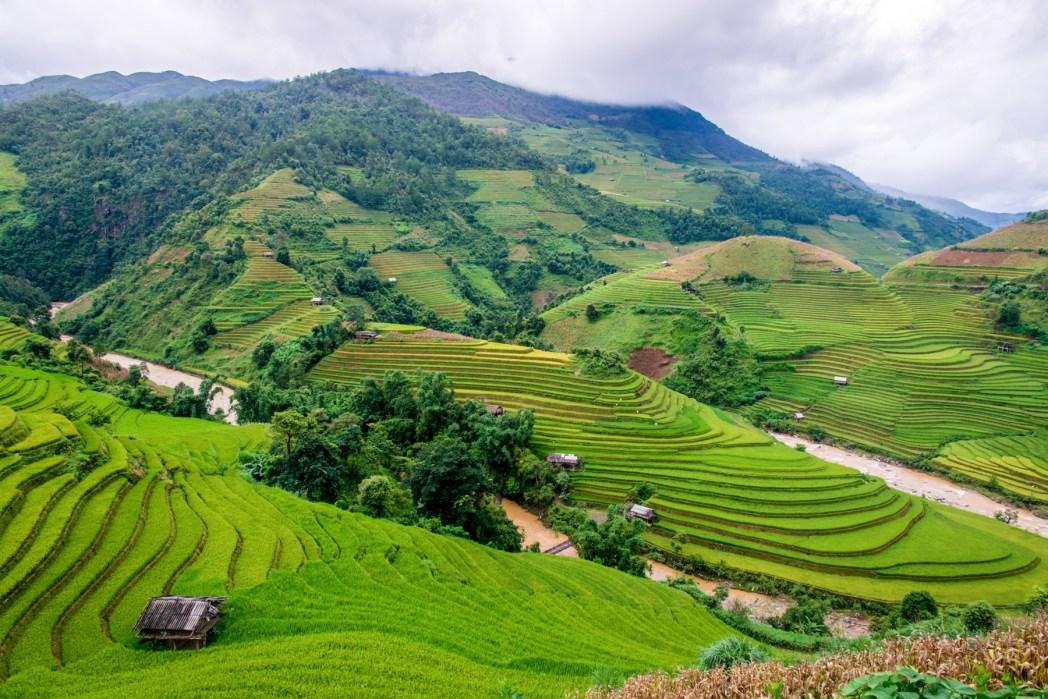 paisajes del norte de vietnam foto de bisual studio