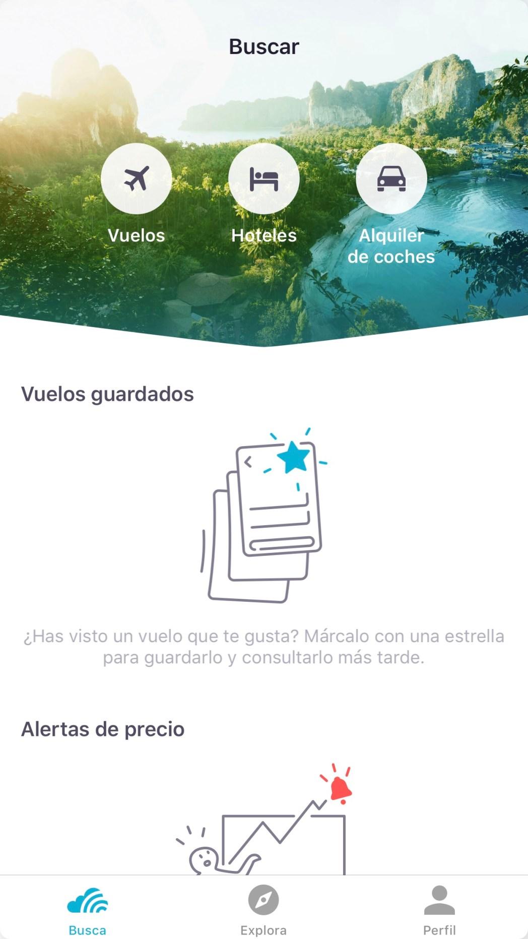 Cómo encontrar vuelos baratos con tu móvil  buscar vuelos 757bec31a70