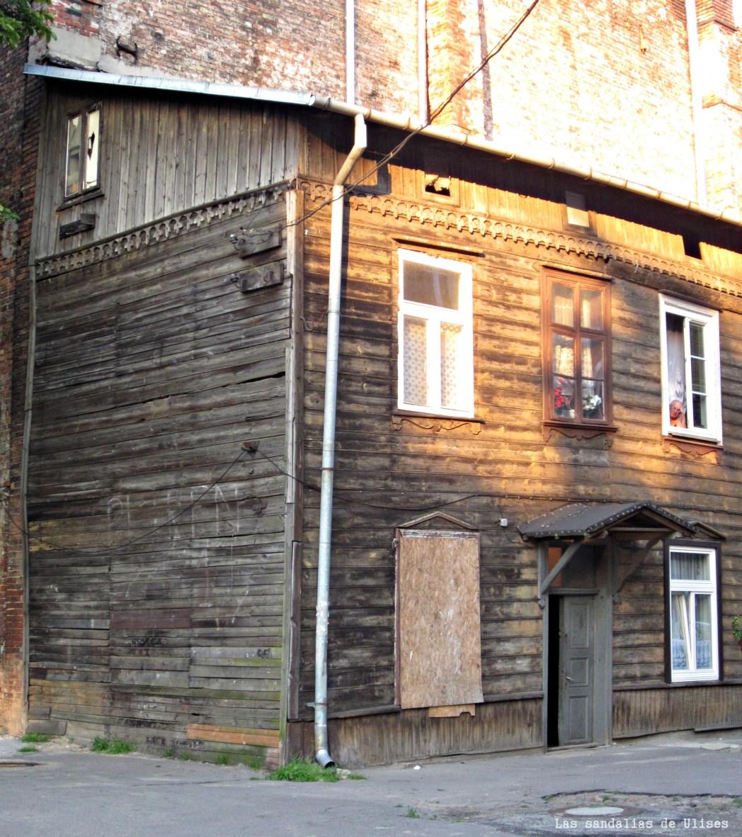 casas de madera en varsovia