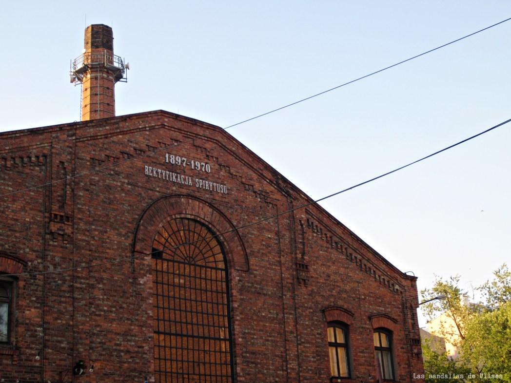 antigua destilería de vodka koneser en varsovia