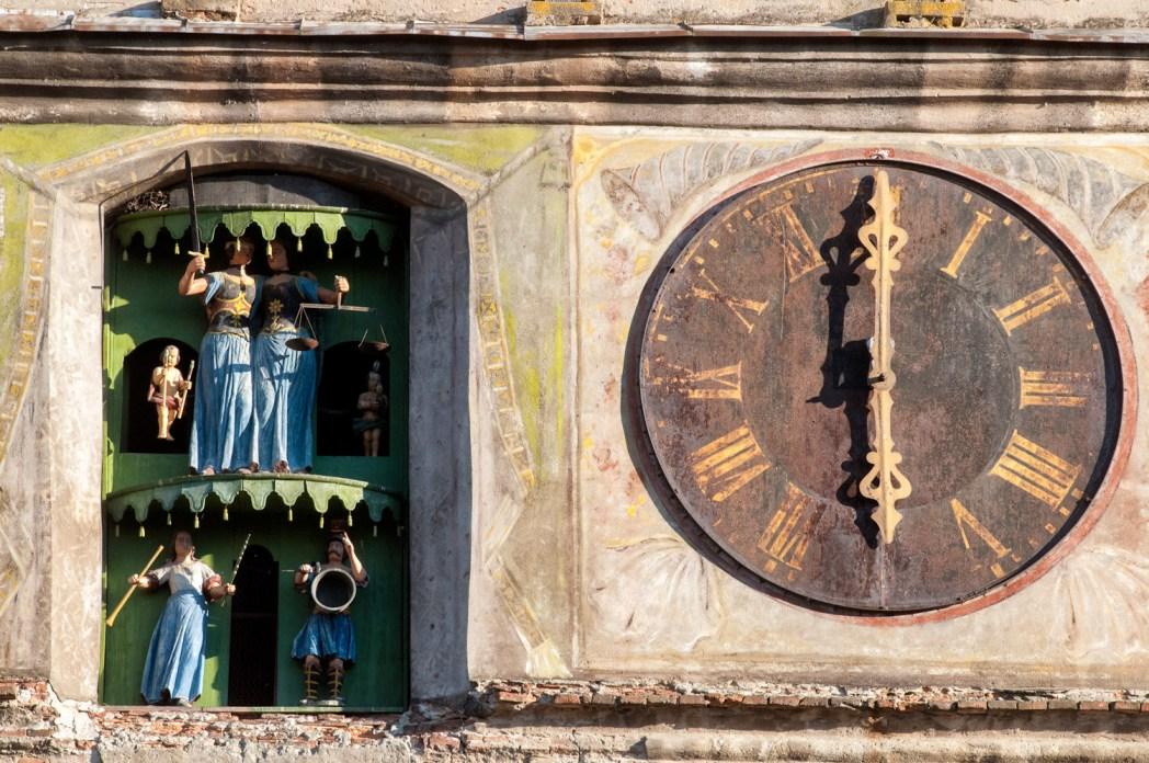 torre del reloj de sighisoara