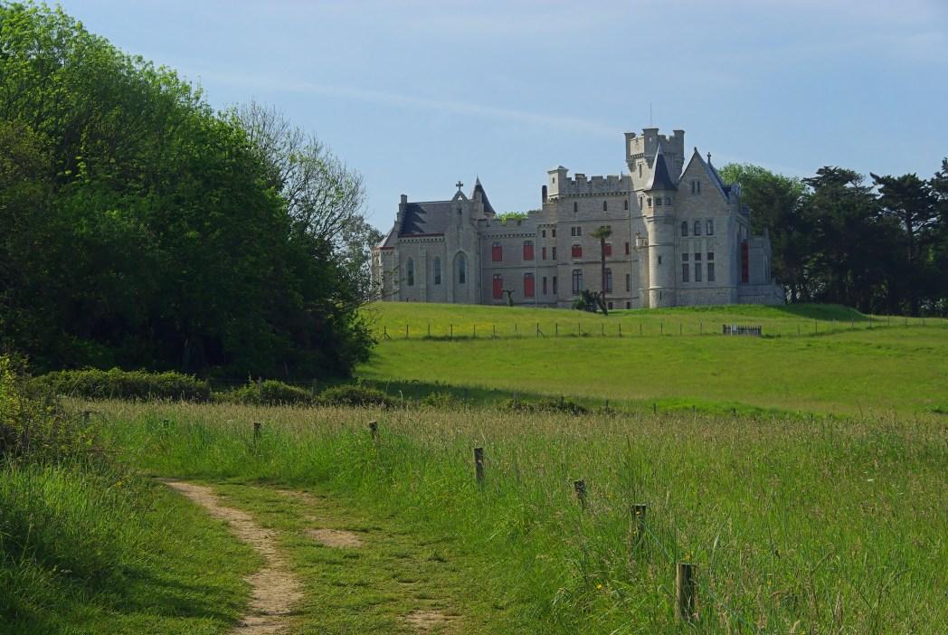 castillo de amboise en el valle del loira en francia