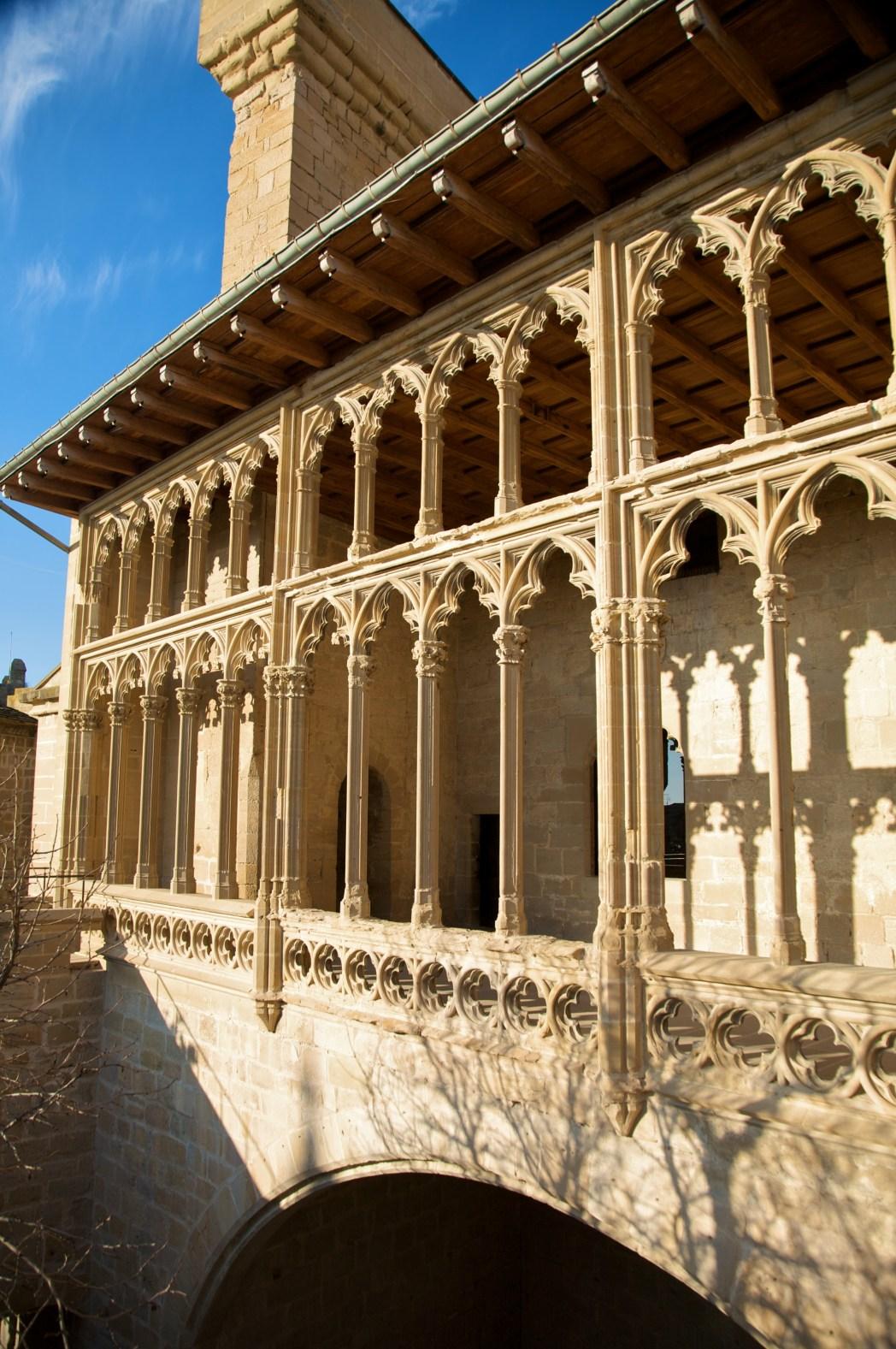 Palacio de Olite en Navarra