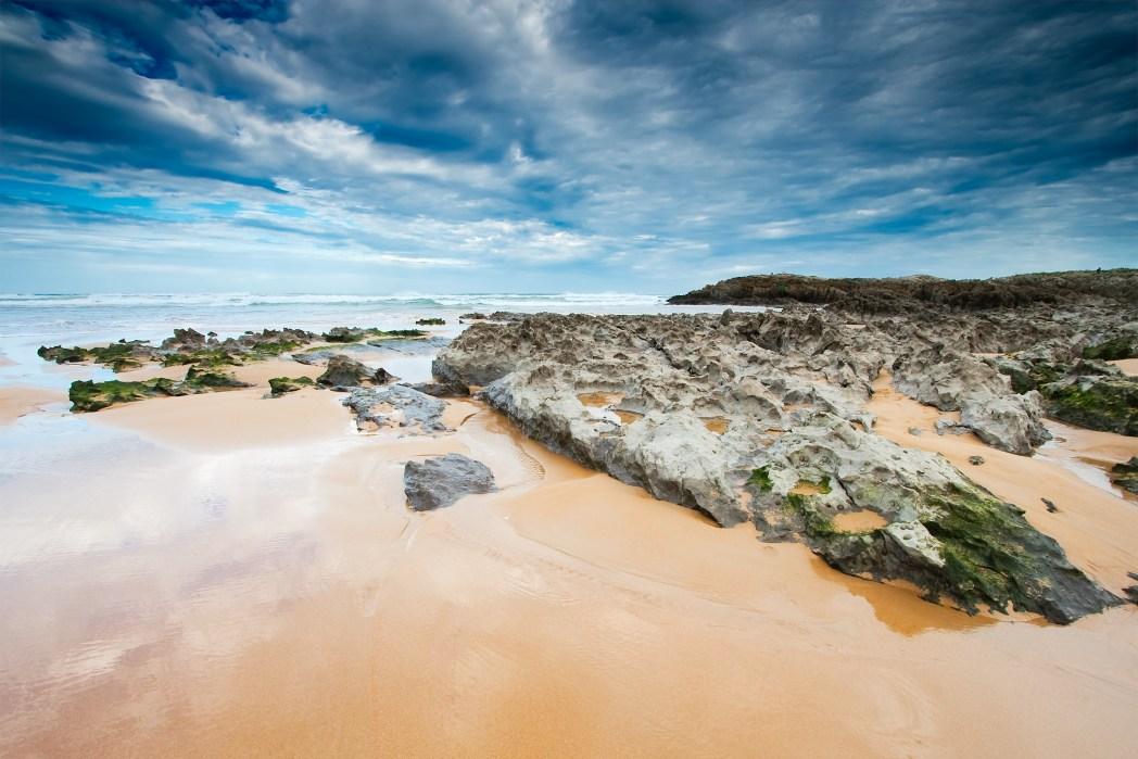 Cantabria playa de liencres