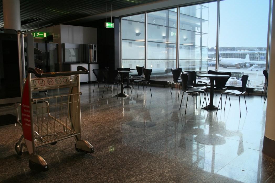 café en el aeropuerto