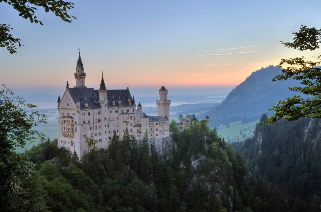Castillo de Schloss Neuschwanstein Alemania