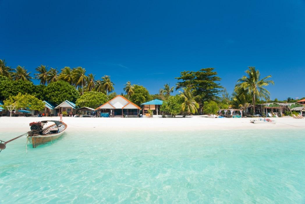 playas de koh lipe en tailandia