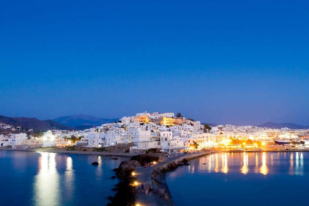 playa en Naxos