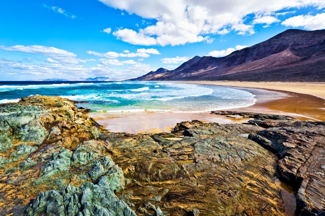 sopa con pescado y ostras en Canarias