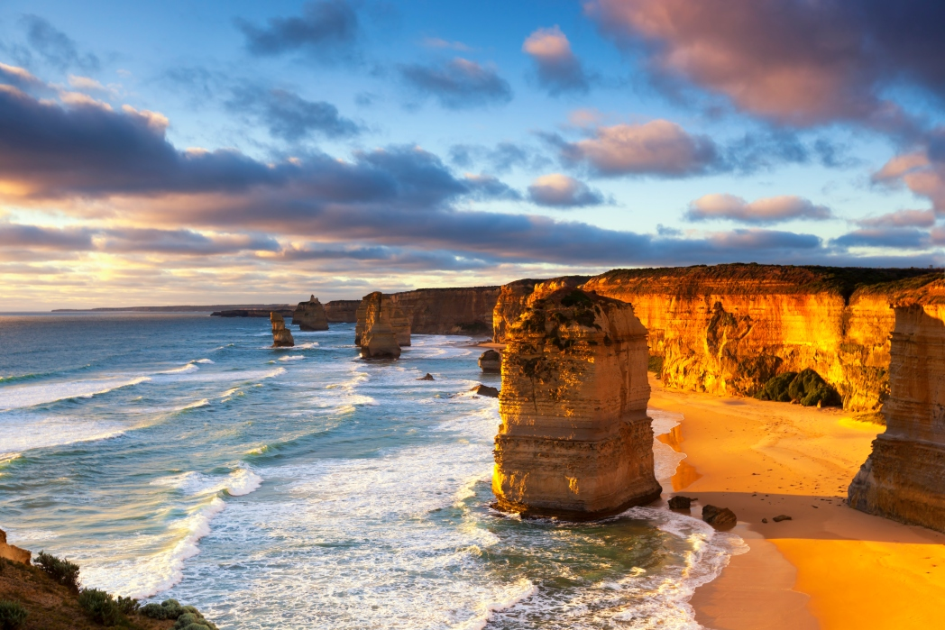 carretera great ocean road en australia