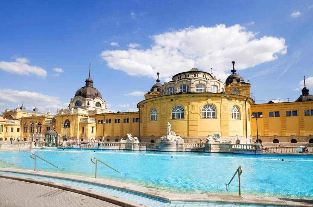 Baños de Szechenyi en Budapest