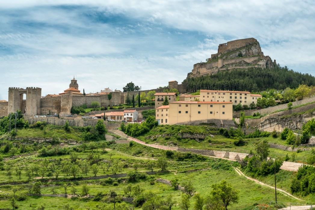 Morella town in Valencia