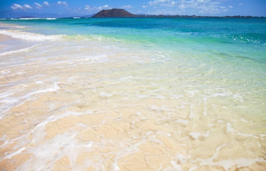 Corralejo Beach Fuerteventura Canary Islands Spain