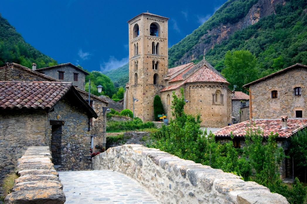 pueblo medieval de Beget en Girona