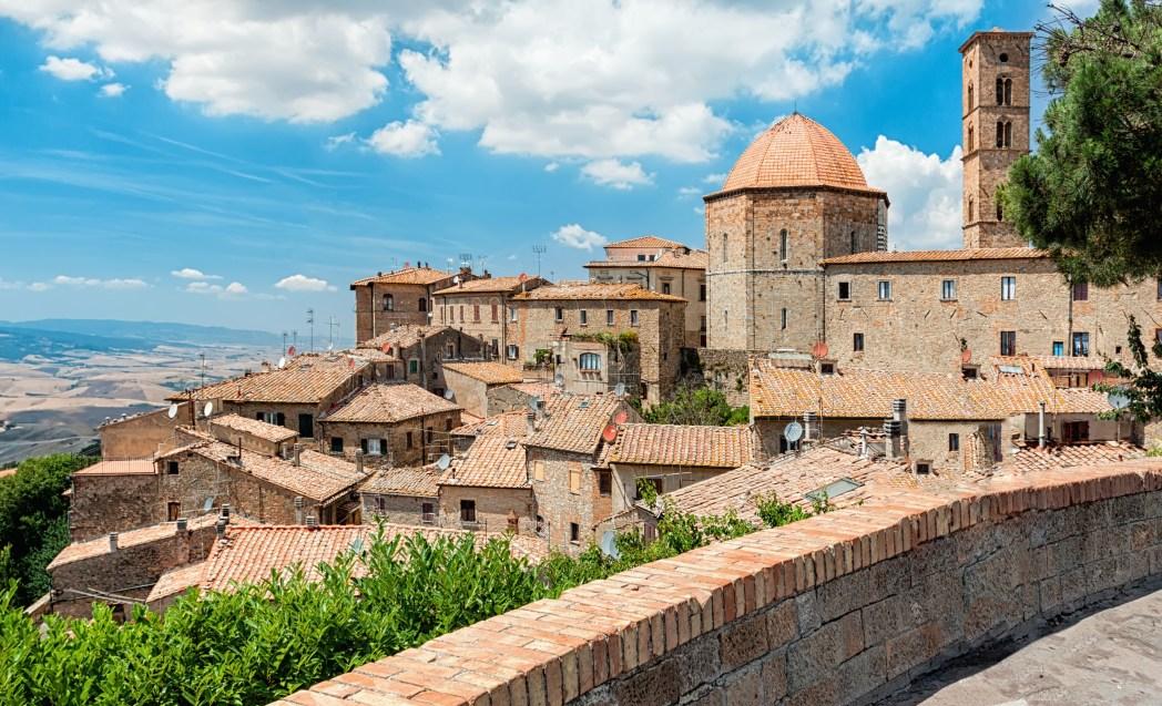 Volterra in Italy tuscany