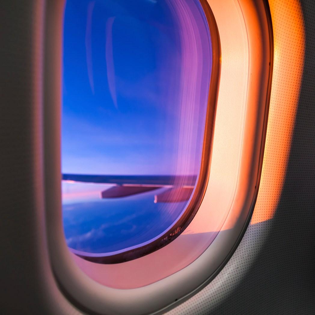 vistas ventanilla avión