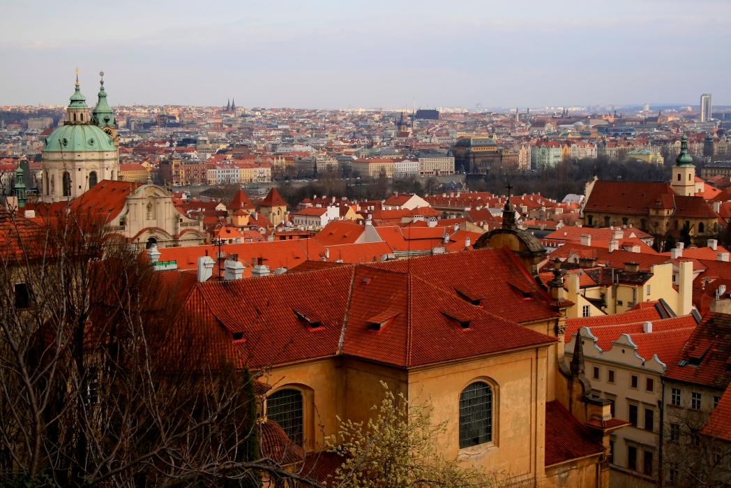 Stare mesto en Praga,