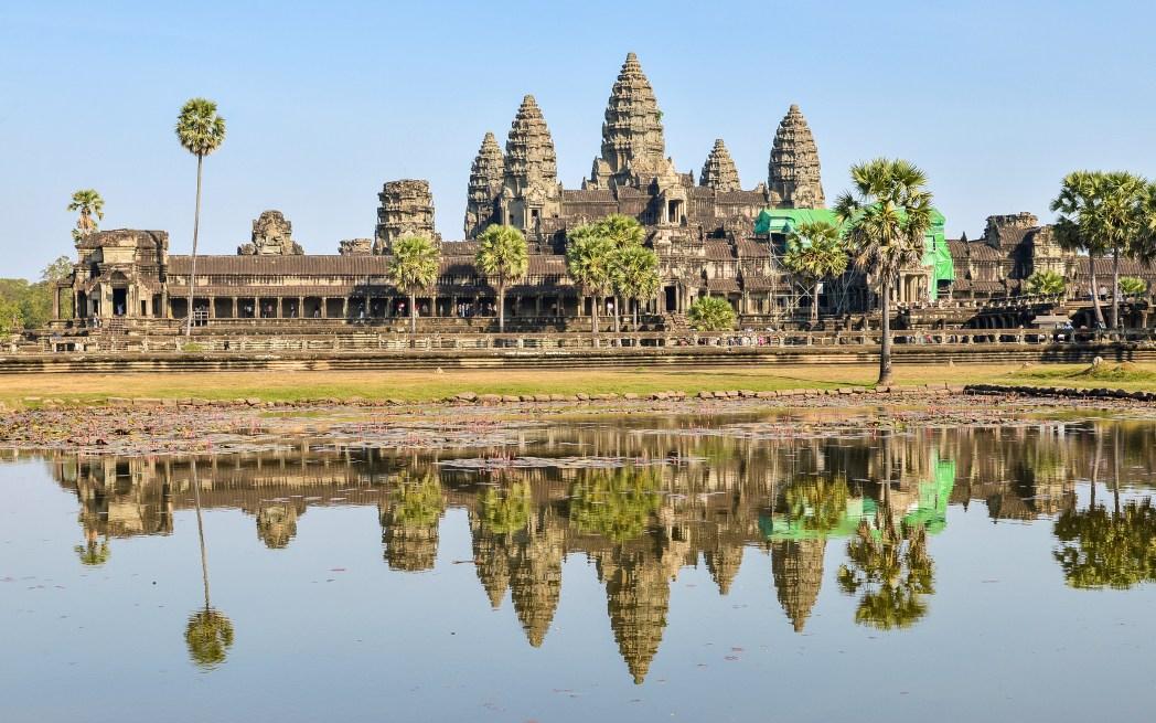 Vistas de Angkor Wat en Camboya © Bisual Studio