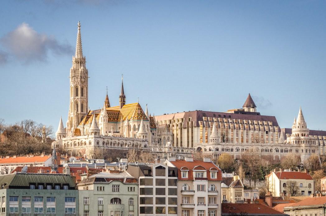Castillo de Buda en Budapest