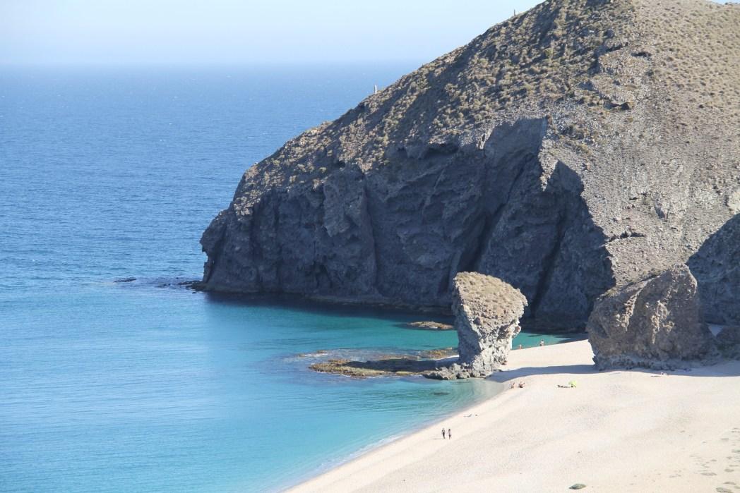 Playa de los Muertos en Carboneras Cabo de Gata Almería