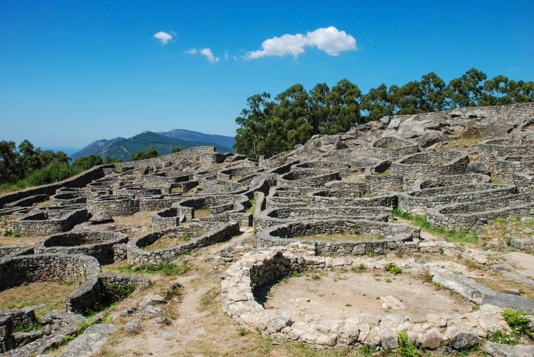 yacimiento arqueológico íbero de Santa Tecla en Pontevedra