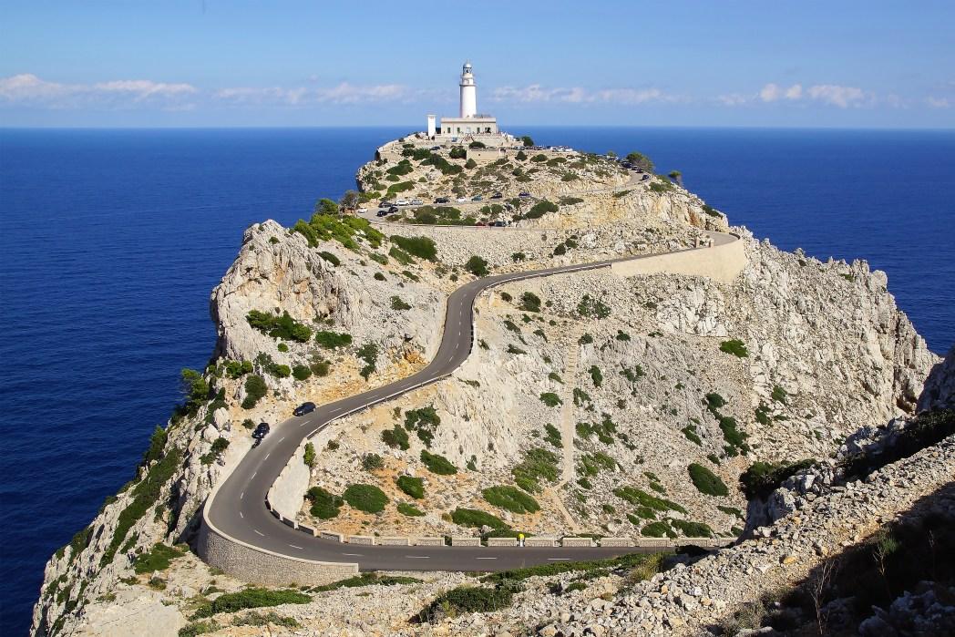 Faro de Formentor en Mallorca