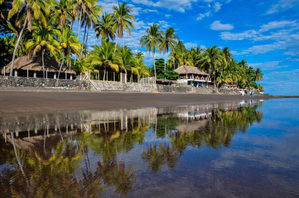 Ruta por Centroamérica: playa