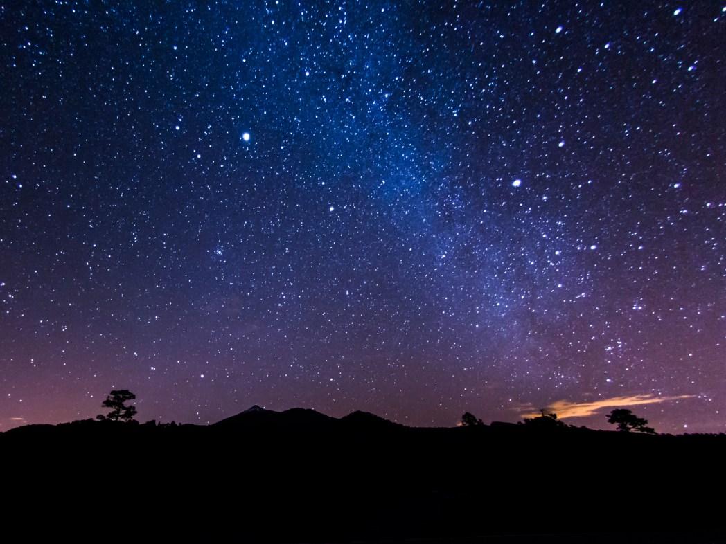 observación de estrellas en tenerife