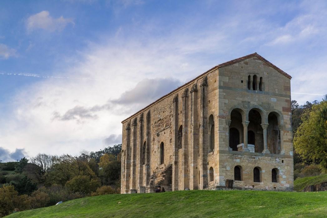 Iglesia de Santa Maria del Naranco en Oviedo Asturias