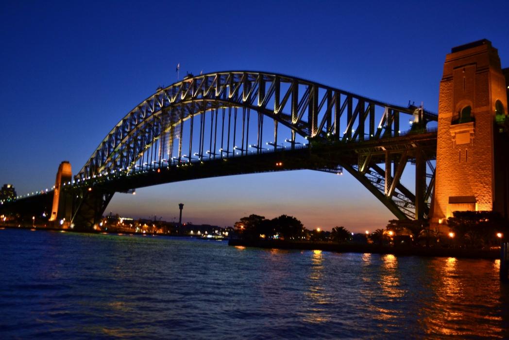 Puente de la bahía de Sidney