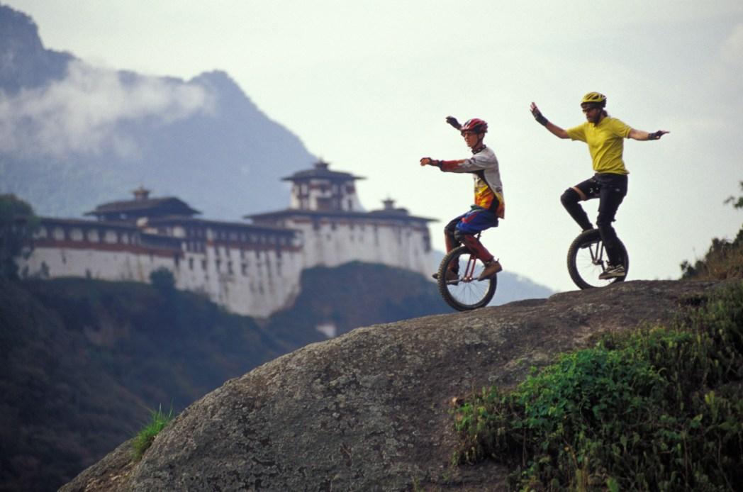 monociclos en bután