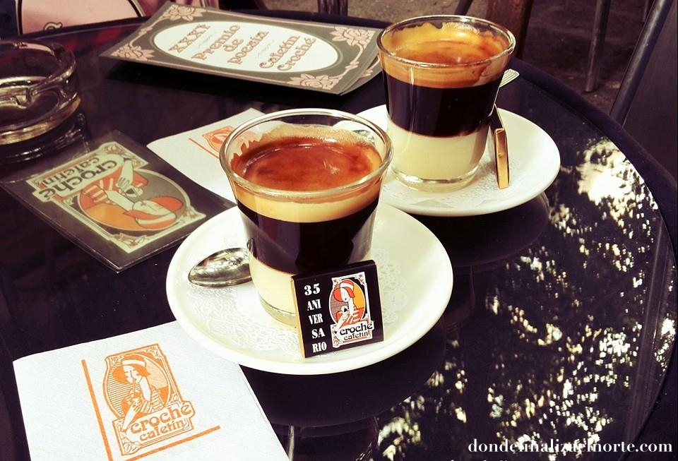 café crochetín en Madrid