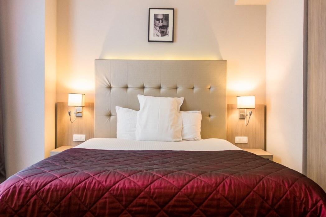 habitación del Hotel Marivaux en Bruselas