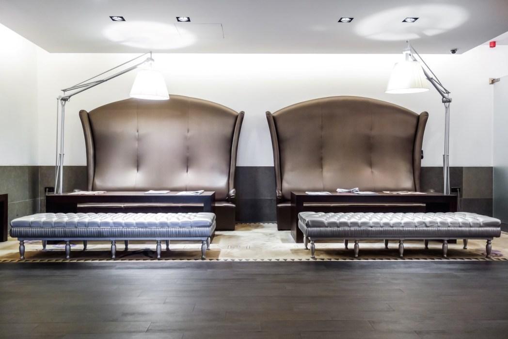 lobby del hotel marivaux en bruselas