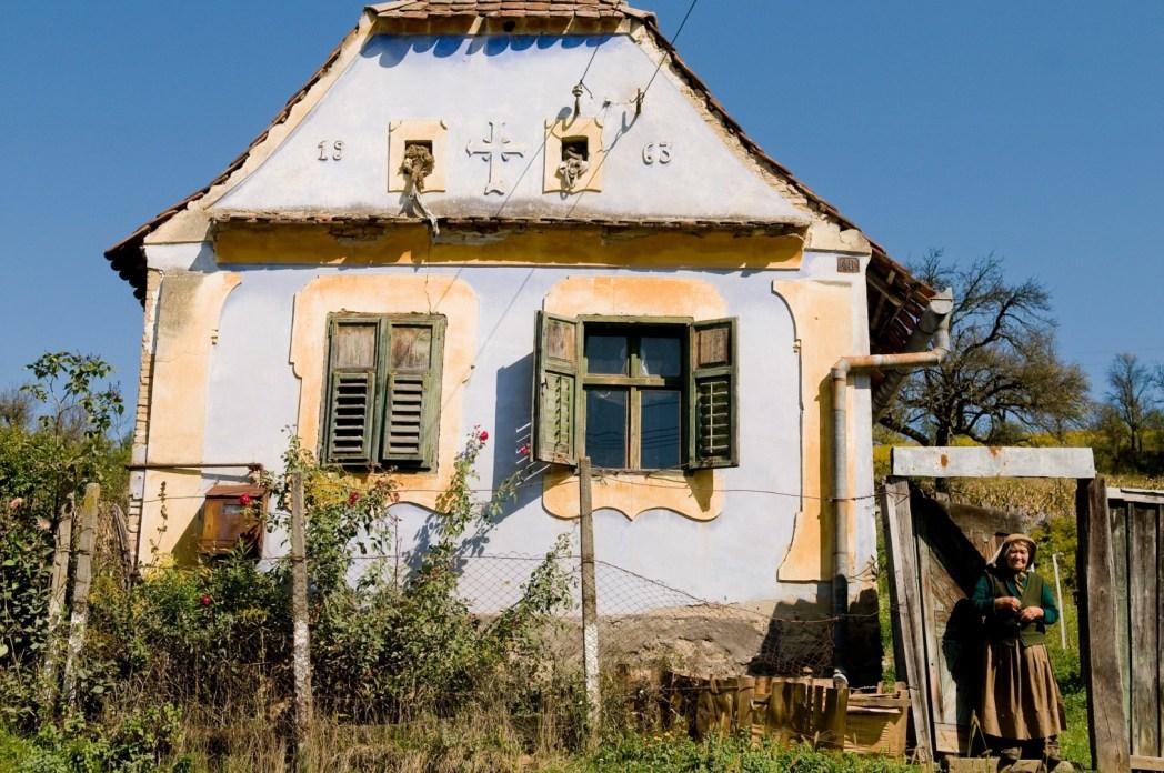 casa tradicional rumana en sibiu