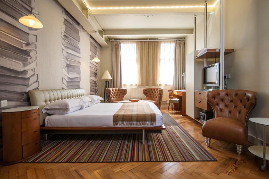 habitación en el hotel abode manchester