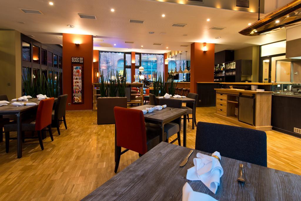 bar del Hotel Am Borsigturm en Berlín