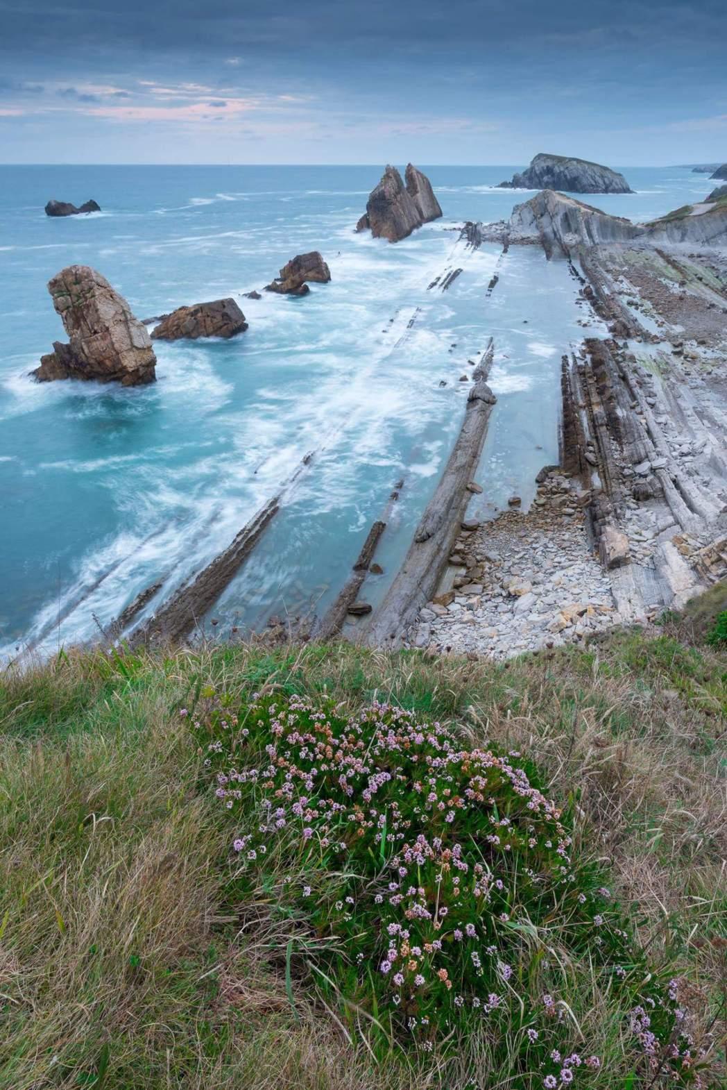 playa de La Arnia, en Soto de la Marina, Cantabria