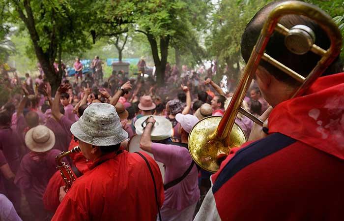 Batalla del vino de Haro © Rafael López Monné / Ayuntamiento de Haro