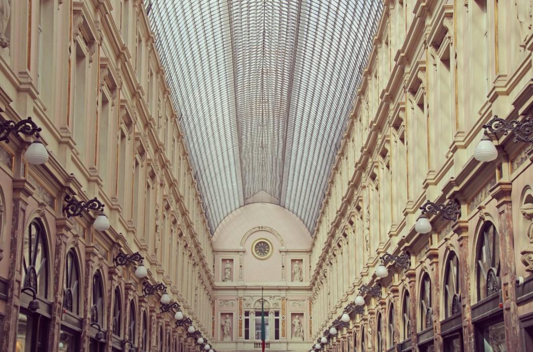 galerías st hubert en bruselas