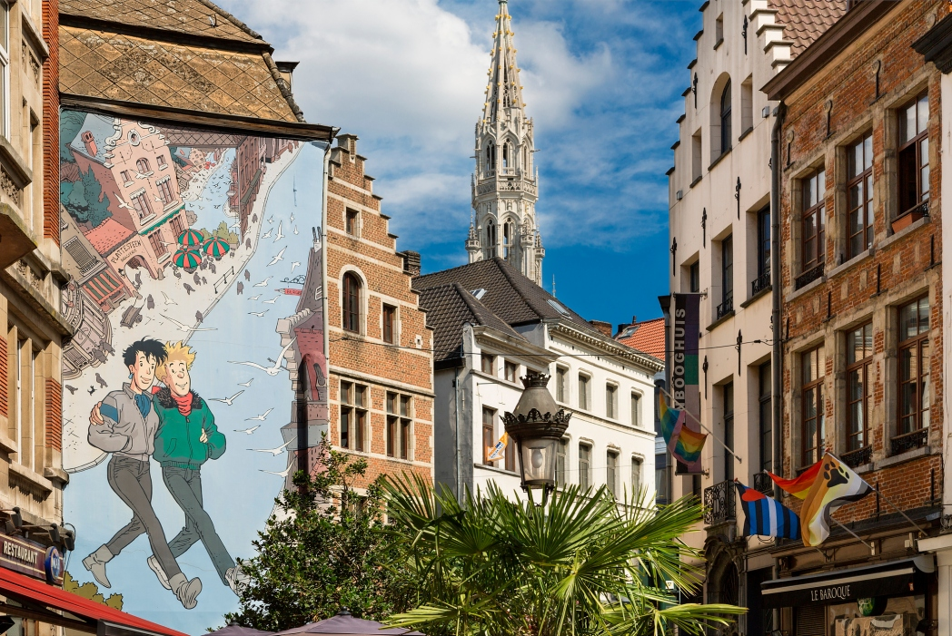 Street art en Bruselas