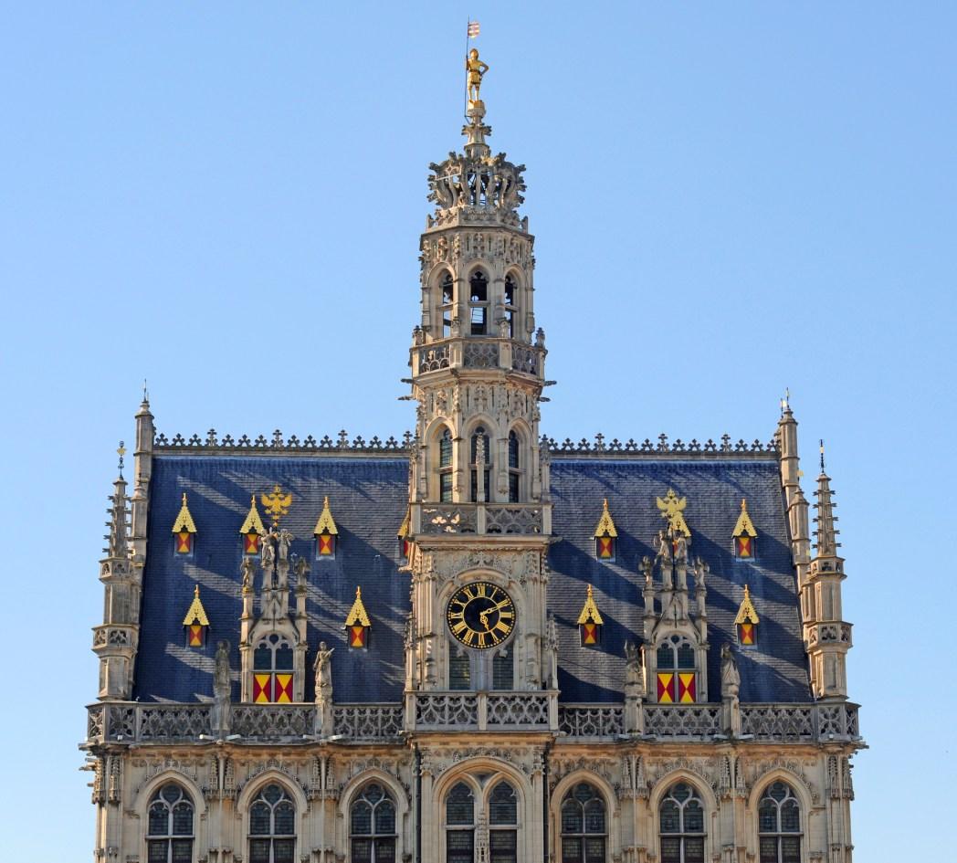 centro histórico de Oudenaarde en Bélgica