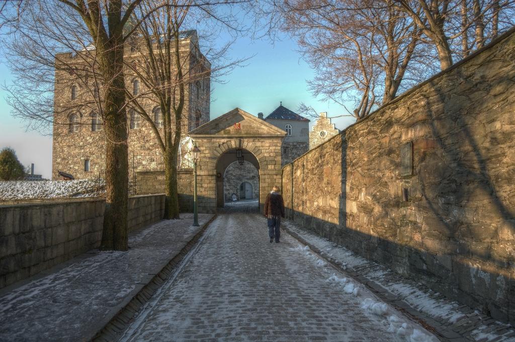 fortaleza de bergenhus en bergen