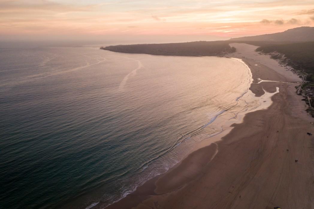 playa de Bolonia en Tarifa provincia de Cádiz