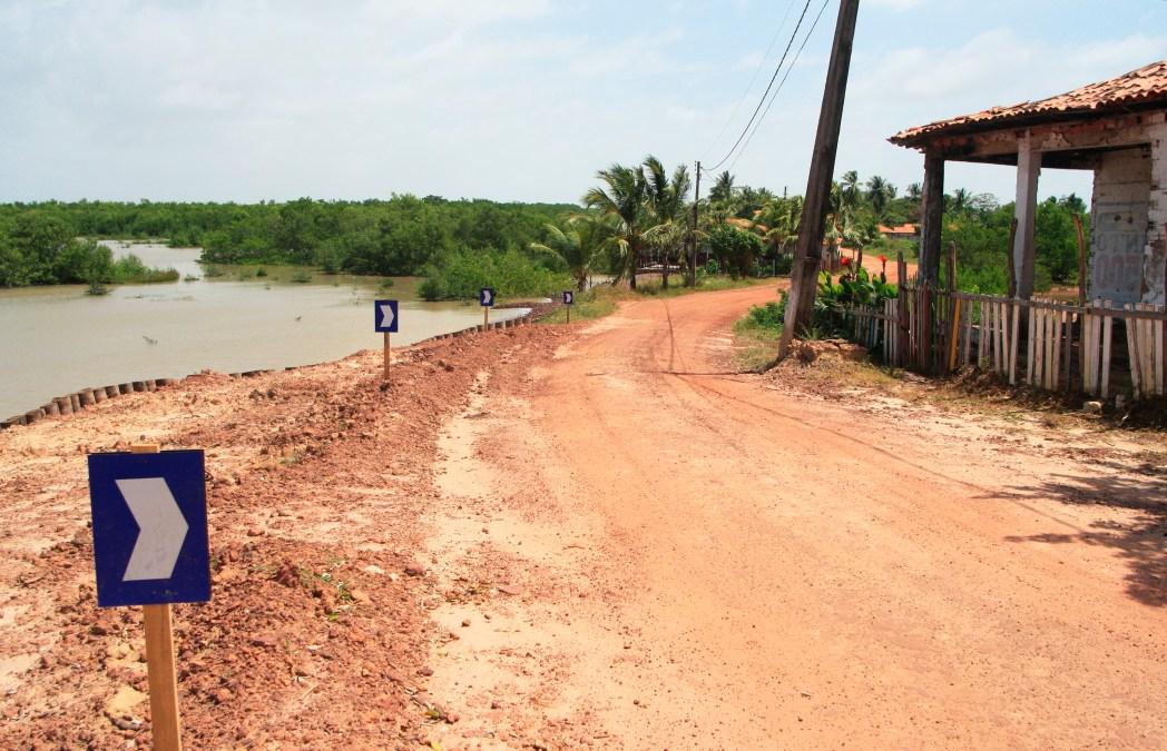carretera de barro en brasil