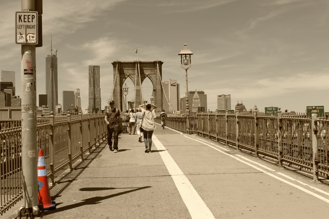 puente de brooklyn foto de claudia campos