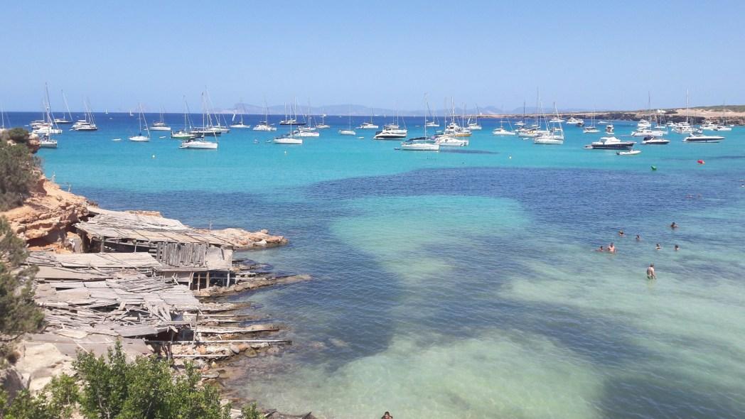 cala Saona en Formentera, Islas Baleares