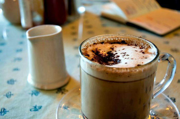 cappuccino en Seattle